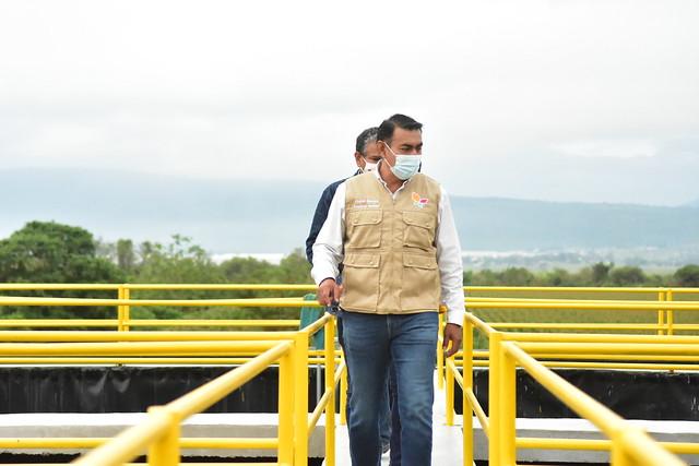 El Presidente de Tlajomulco Salvador Zamora Entregó la Obra de pavimentación de las calles Vicente Trigo y Javier Mina, Además realizó un Recorrido por Obras de Santa Cruz de las Flores.