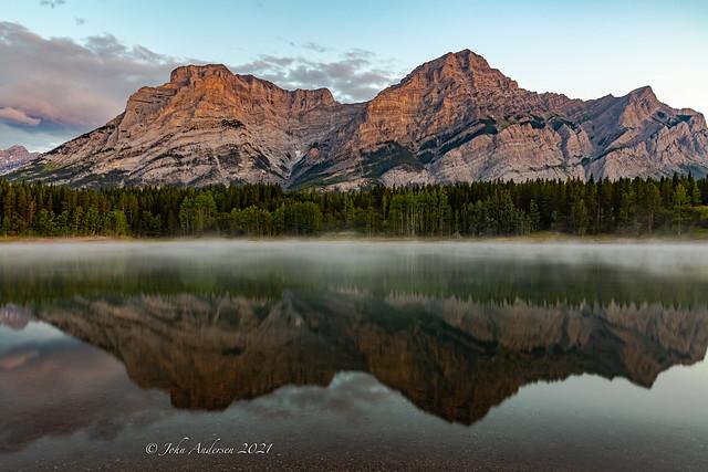 Mt. Kidd mirror-Summer lovin