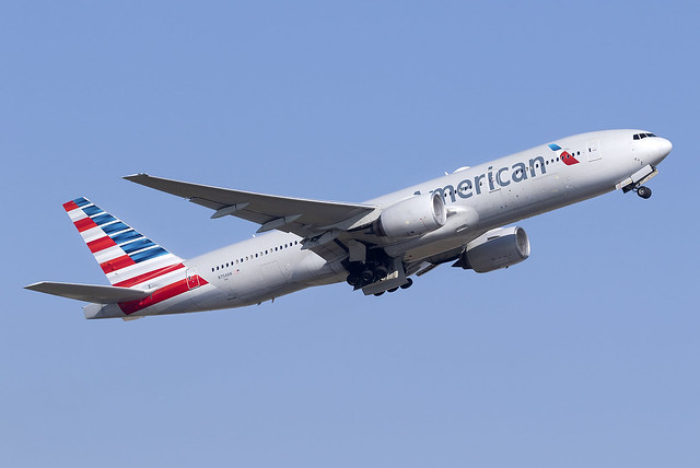American Airlines 777-200ER N754AN at Heathrow Airport LHR/EGLL