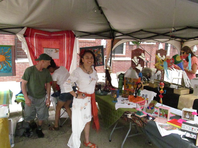 A Mexican-American artist who does excellent folk art.