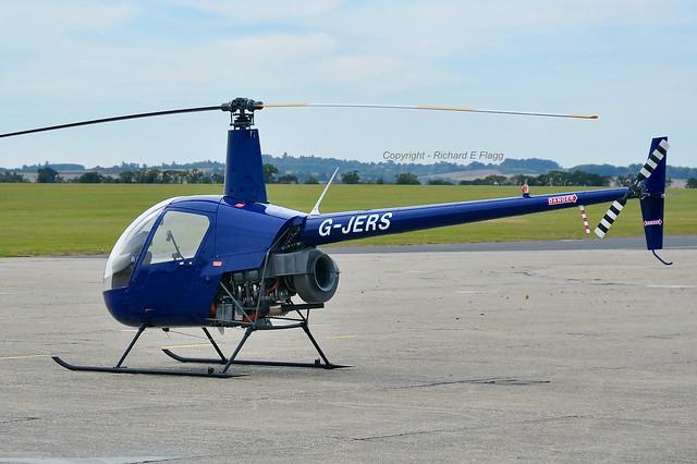 G-JERS : Robinson R22 Beta at Duxford.