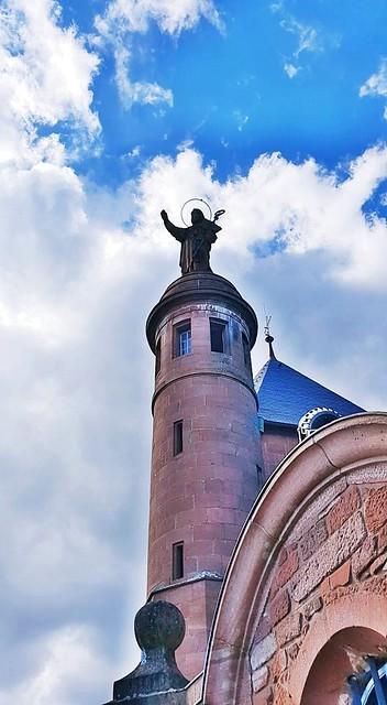 La statue de Sainte-Odile