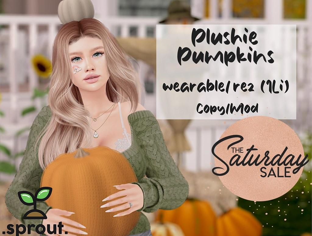 .sprout. plushie pumpkins! 🎃 TSS