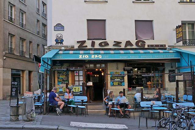 Rue des Carmes - Paris (France)