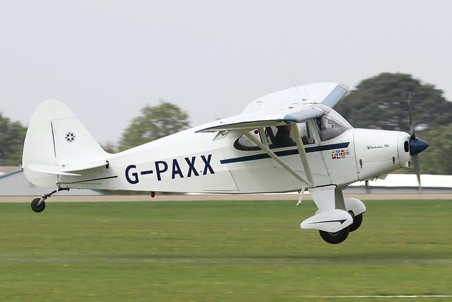 G-PAXX  -  Piper PA-20 135 Pacer c/n 20-1107   -  EGBK 4/9/21