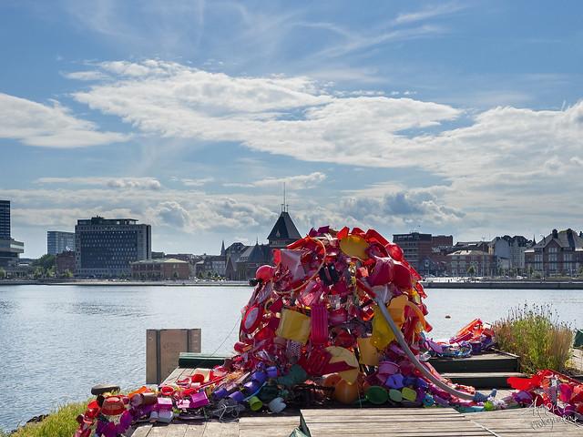 Klimasprutten af Maj D. Aarhus Harbour 2020