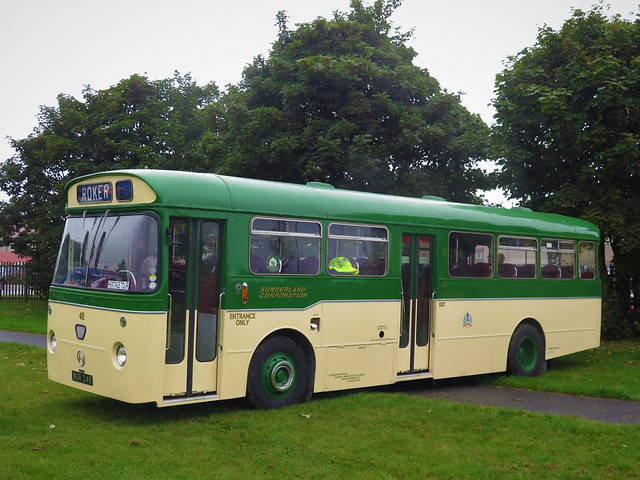 Sunderland Corporation Transport 48 (WBR248) - 30-08-21 (02)