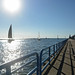 Sailing Lake Michigan