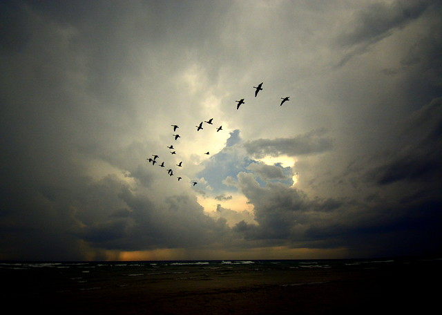 Stormy Weather on Lake Huron