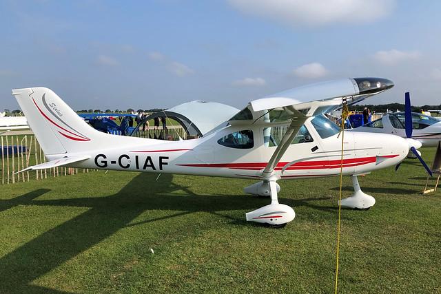 G-CIAF TL-3000 Sirius c/n LAA 386-15211  -  EGBK 5/9/21
