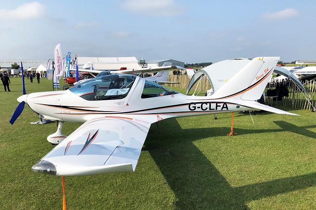 G-CLFA  -  TL-2000 Sting Carbon UK S4 c/n LAA 347A-15613  -  EGBK 5/9/21