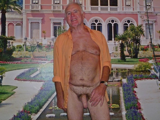{also, No Fake, no Lie}......and another German {Opa} Grandpa i know. This is Horst Abendrot {Hotte Evening Red} from Berlin. I know him since 2016. He is now 80 years old !!! {Look at Him - A Divine Picture of Senior} Incredibly Hot !!