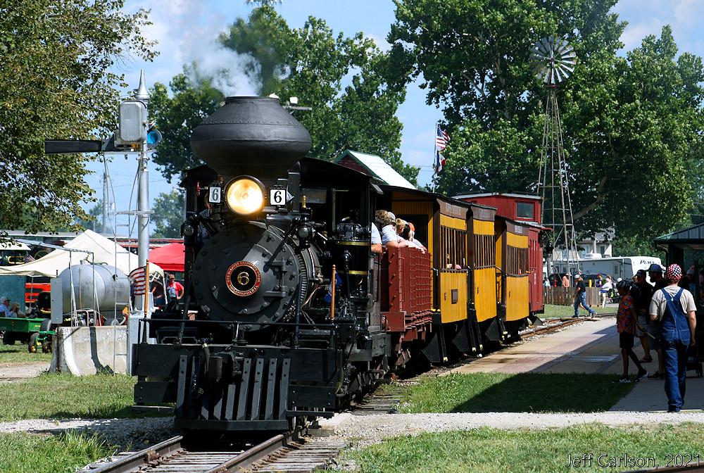Narrow Gauge Steam in Iowa