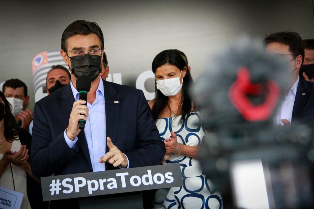 Anúncios do Governo de SP em Barra Bonita