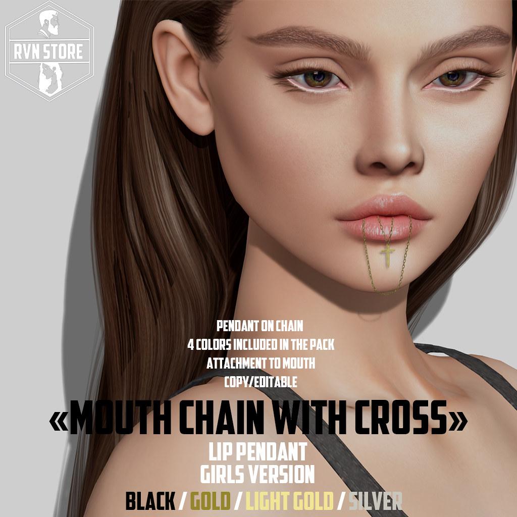 rvn – mount chain – cross – female