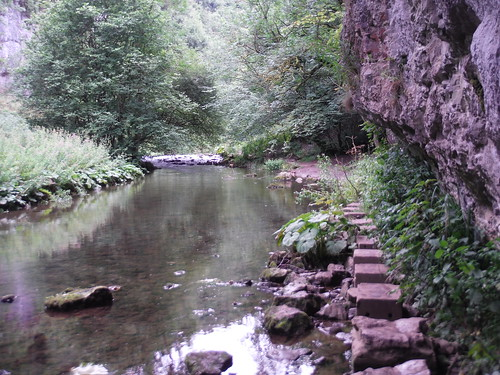 First set of Stepping Stones. Chee Dale SWC 385 - Buxton Circular or to Monsal Dale (via the Wye Valley)