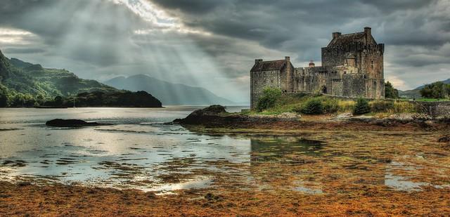 Eilean Donan Castle, Dornie, Loch Duich, Scotland, UK
