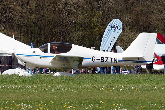 G-BZTN   Europa Avn Europa XS [PFA 247-13715] Popham~G 03/05/2014