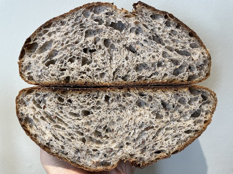 Whole Wheat 25% - Seeded Loaf