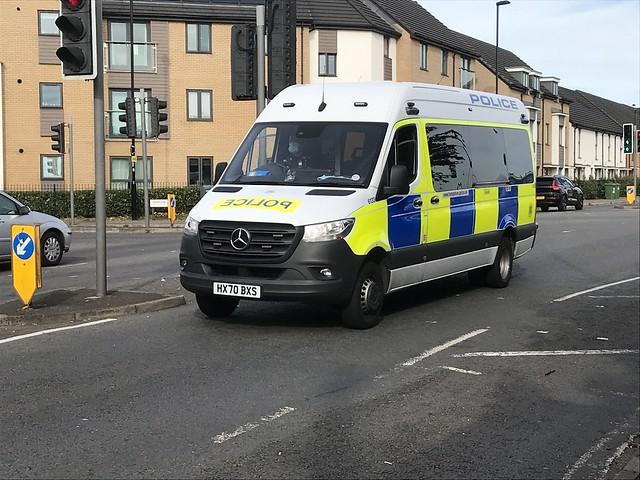 HX70BXS Hampshire Police