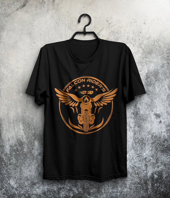 MotorBike Rider T-Shirt Design