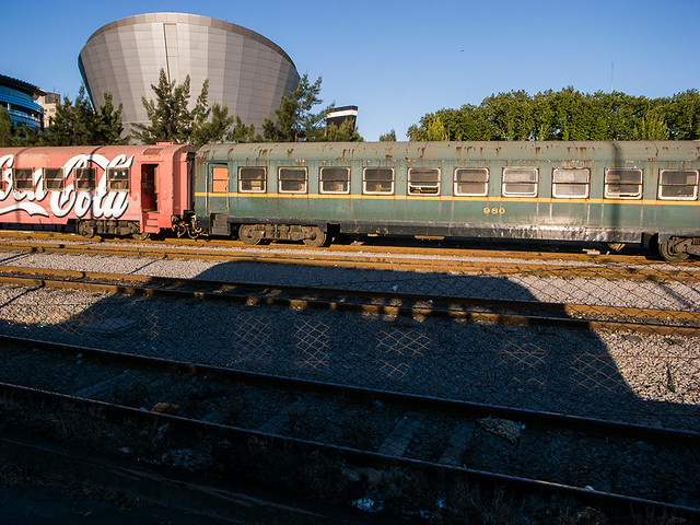 Train in Uruguay
