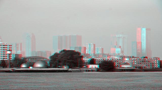 Rotterdam-zuid sept 2021 hyper-anaglyph 3D