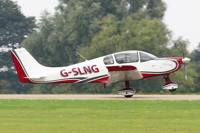 G-SLNG - Sling 4 c/n LAA 400-15477  -  EGBK 4/9/21