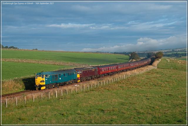 Scarborough Spa Express at Eldroth