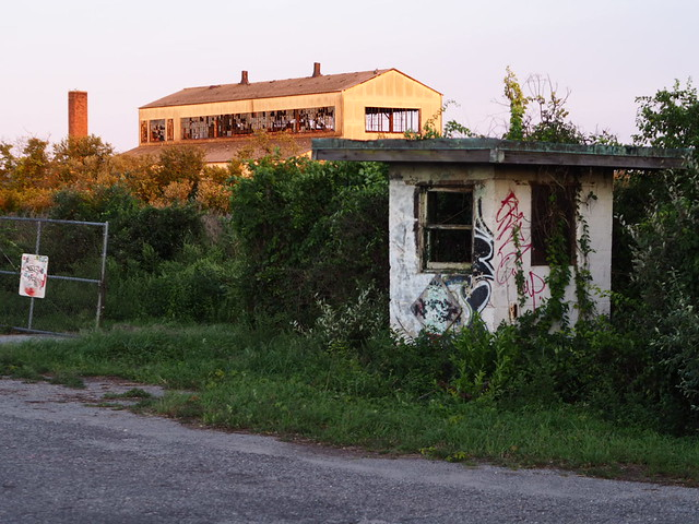 Abandoned structures at Fort Tilden - Queens, NY