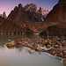 Trango Towers: Pre-dawn magic