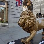 UK - London - Westminster - Tusk Lion Trail - Sculpture - Lion