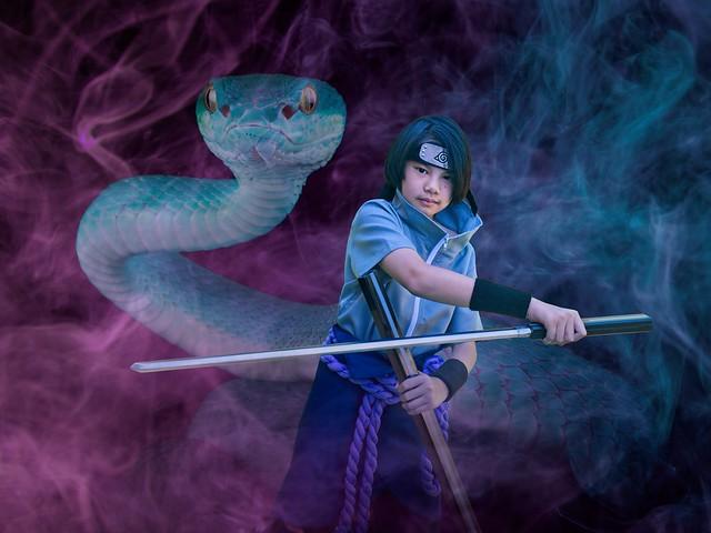 Sasuke Cosplay 1364 A