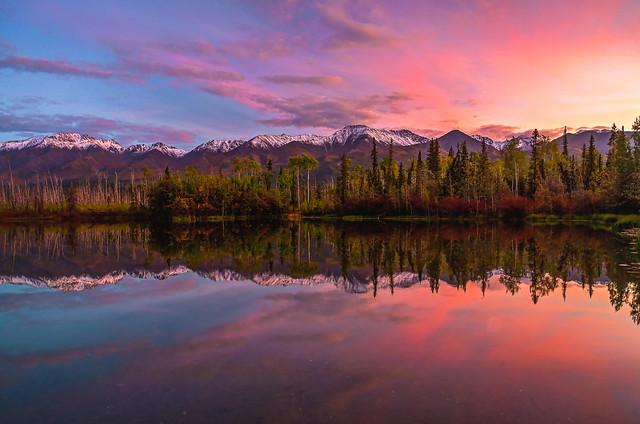 Mentasta Mountains Alaska Reflections