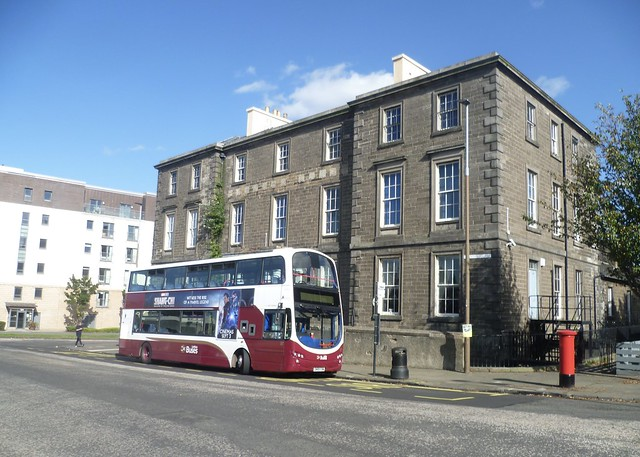 Lothian 317 at Granton Square, Edinburgh.