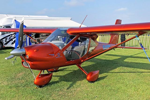 G-VIXY  -  Aeroprakt A-32 Vixxen c/n A32129  -  EGBK 5/9/21