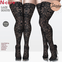 """N-core """"Lace Boots"""" @ Saturday SALE! (coming in a few hours...)"""