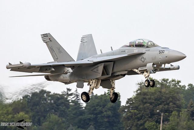 EA-18G 169145 NJ-500 VAQ-129 Vikings