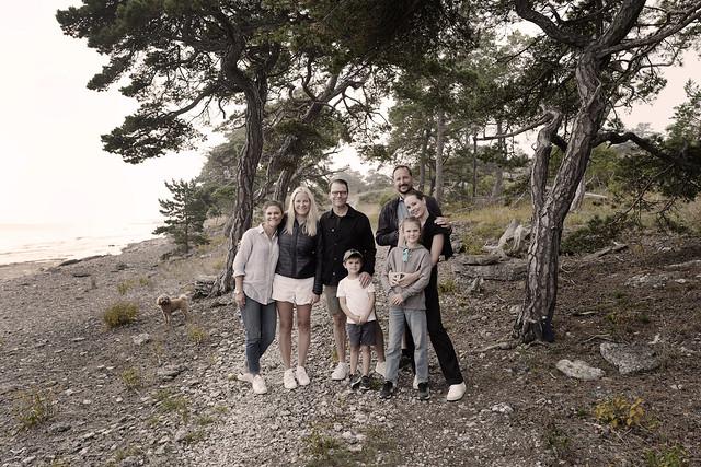 Kroonprinsesselijk gezin van Zweden en Kroonprins Haakon, Kroonprinses Mette-Marit en Prinses Ingrid Alexandra van Noorwegen bezoeken Gotland (2021)