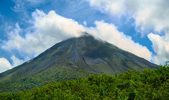Arenal Volcano viewed from Arenal National Park, La Fortuna, Costa Rica