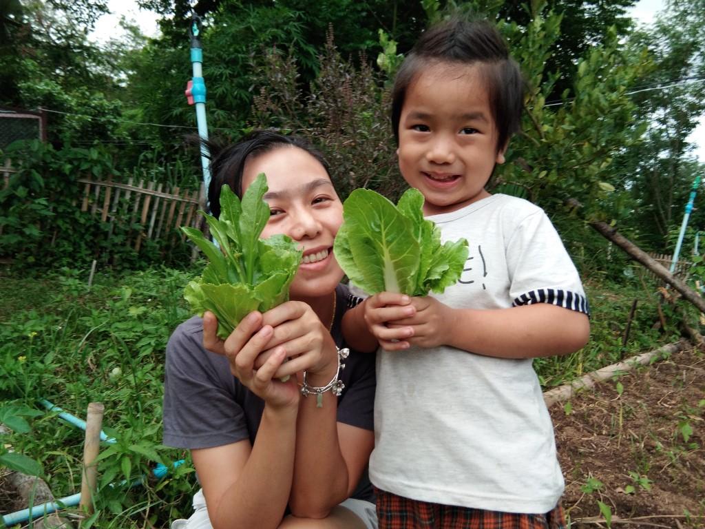 พิชชาพา เดชา ครอบครัว ม่อนภูผาแดง: ฟาร์มเล็กๆ ที่เชียงดาว