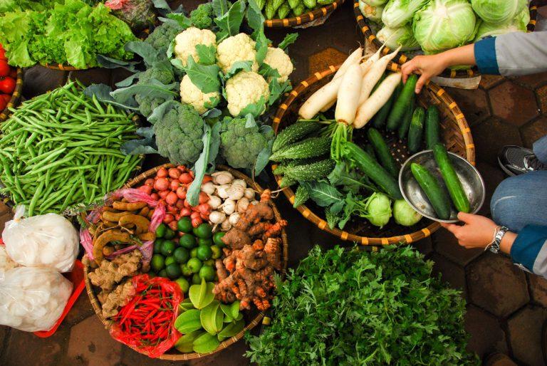 ผลผลิตพืชผักพื้นบ้าน อาหารปลอดภัย | ที่มาภาพ : www.chula.ac.th
