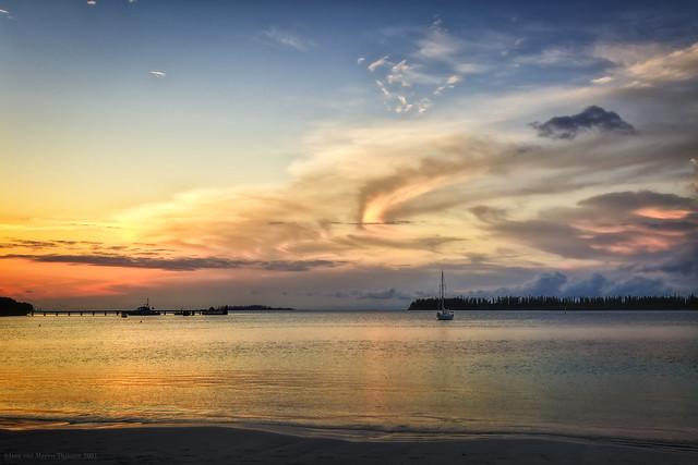 Sunset on Île des Pins