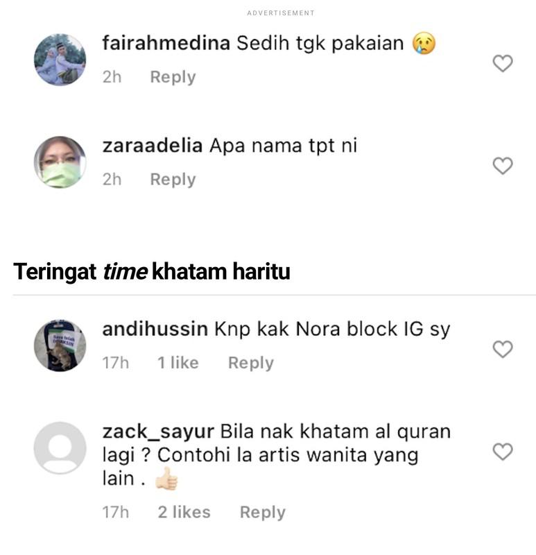 Nora Danish Tampil Seksi Bercuti Di Langkawi,  Ini Nasihat Netizen