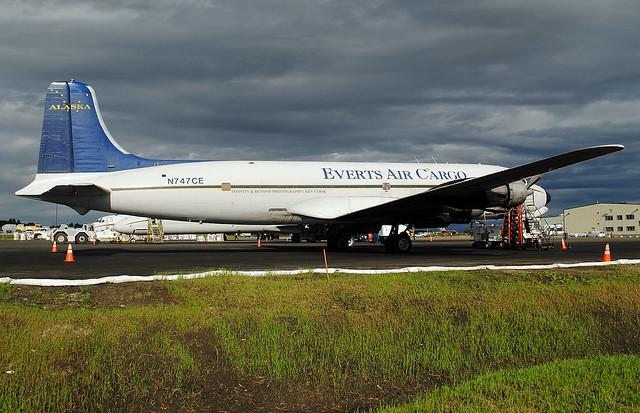 Everts DC-6. Anchorage, Alaska.