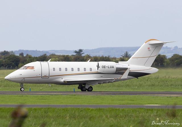 International Jet Management Challenger 650 OE-LUA