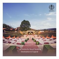 Royal Wedding Destination, Wedding Venues in Gujarat   Statue Of Unity Tent City 1 Kevadiya