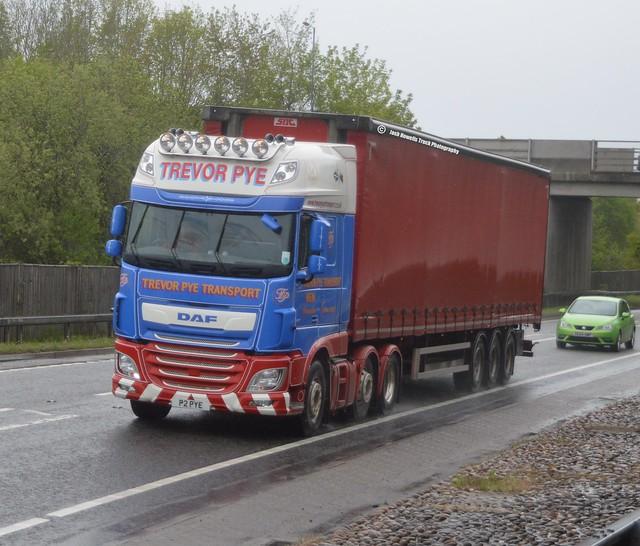 Trevor Pye Transport P2 PYE At Welshpool