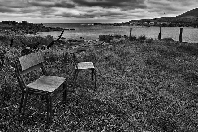 Lonely Chairs Looking For Company