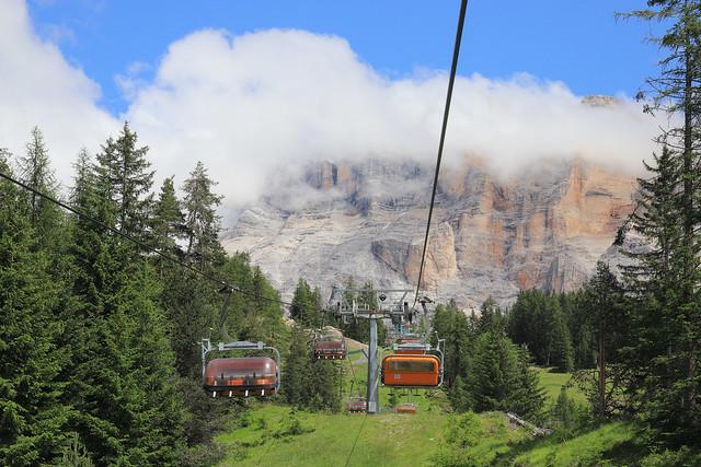 Italy / South Tyrol - Sas dla Crusc